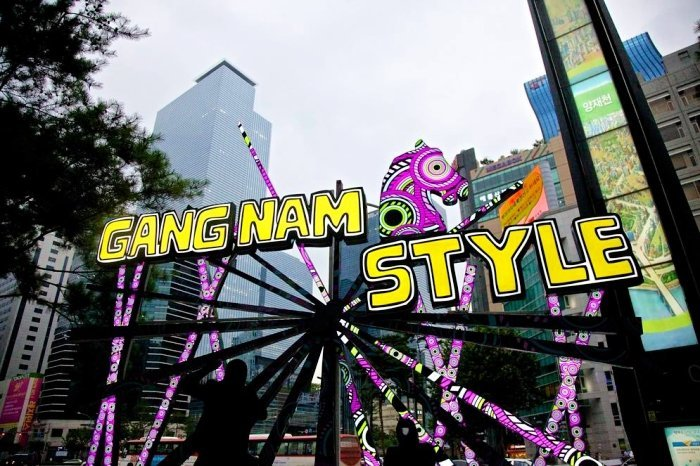 Gangnam area