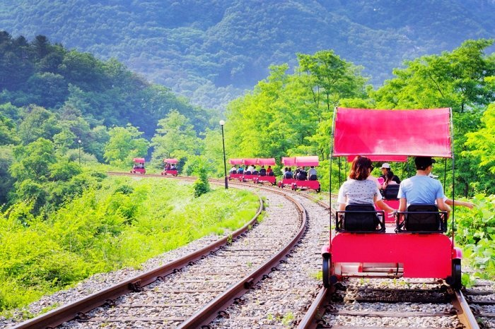 Korea Tour_Rail Bike