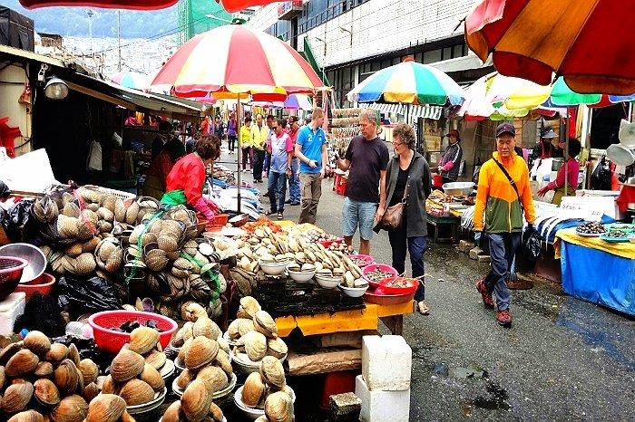 Korea Tour_Busan Jagalchi Fish Market