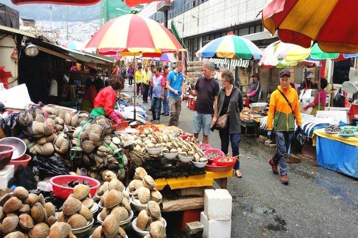 Korea Tour_Busan_Jagalchi Market