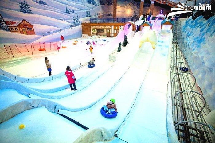 Korea Tour_Seoul City Tour_One Mount Snow park