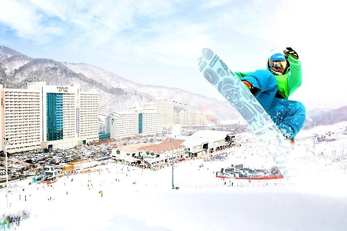 One day korea ski tour